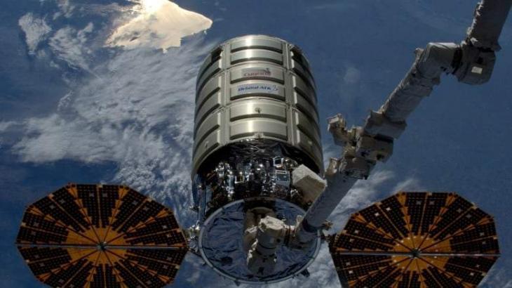 US Cargo Spacecraft Cygnus Departs From ISS - NASA