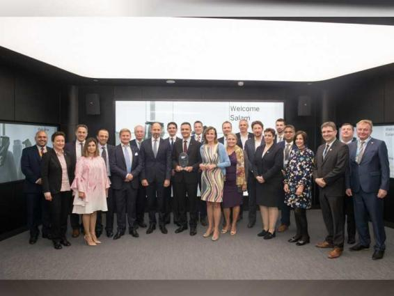 German Minister commends UAE's digital transformation on visit to SAP MENA in Dubai