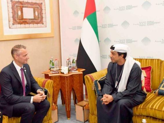 Mansour bin Zayed meets with Slovak Deputy PM