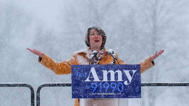 US Democrat Amy Klobuchar Announces Presidential Bid