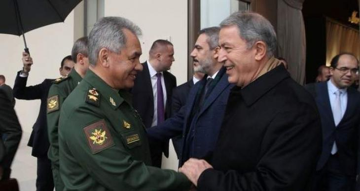 Russian Defense Minister to Visit Turkey Monday - Reports