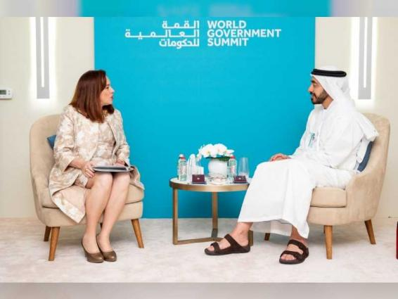 Sheikh Abdullah affirms UAE's commitment to supporting international organisations at World Government Summit
