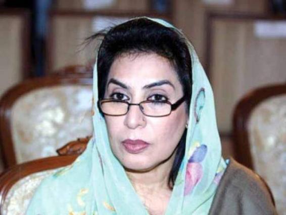 China, Pakistan enjoy exemplary friendship: Dr. Fehmida Mirza