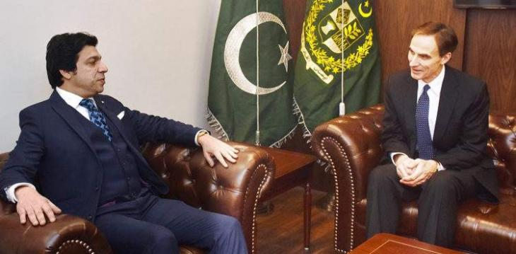 US envoy, Vawda discuss bilateral relations