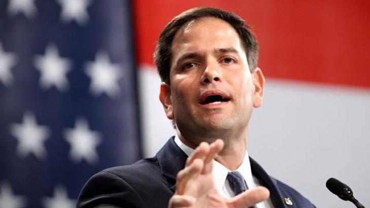 US Senator Marco Rubio Urges Venezuela's Top Military Brass to Support Opposition Leader Guaido
