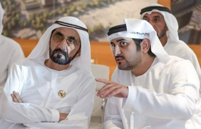 Mohammed bin Rashid honours Canadian Team which won Government Experience Innovation Award