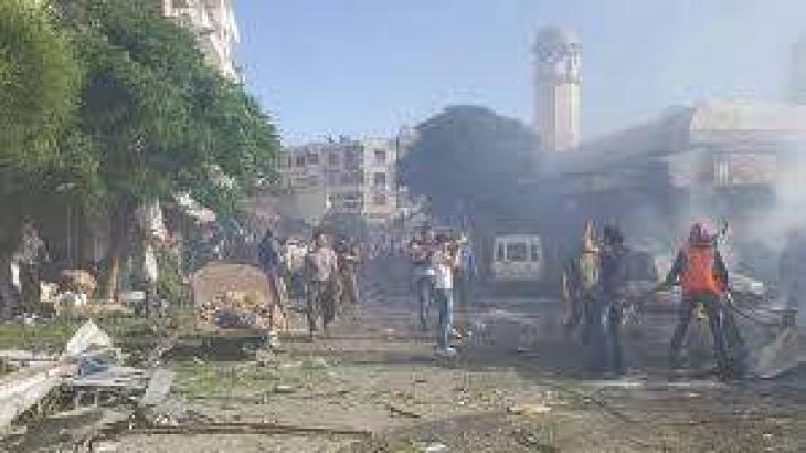 مقتل وإصابة 70 مدنيا بقصف لطيران التحالف على أطراف بلدة الباغوز بريف دير الزور شرق سوريا