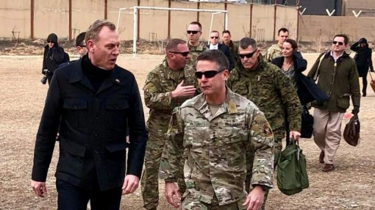 Acting US Defense Chief Meets Afghan Leaders, American Troops - Pentagon