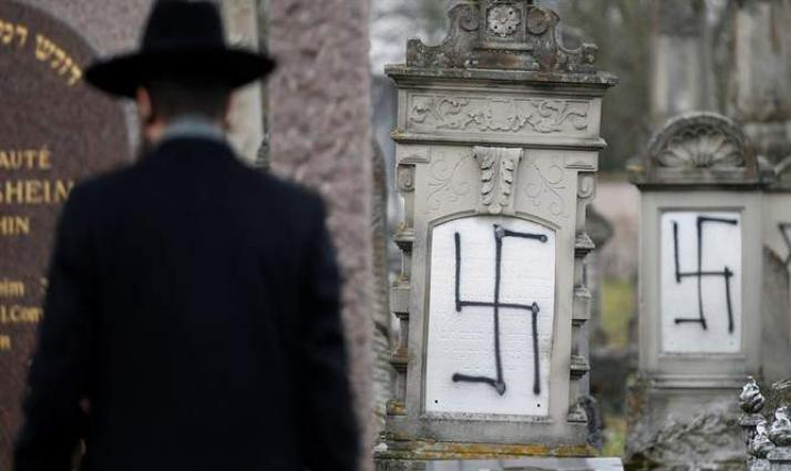 Number of Anti-Semitic Incidents in France Increased by 74% in 2018 - Interior Ministry