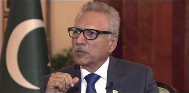 Armed forces, nation know how to defend motherland from any misadventure: President Dr Arif Alvi