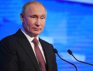 Putin Declares Winter Universiade 2019 in Krasnoyarsk Open