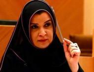 Amal Al Qubaisi arrives in Jordan, heads UAE delegation