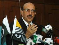 Azad Jammu and Kashmir President AJK reviews relief efforts for L ..