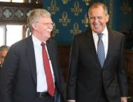 Lavrov Calls Bolton's Remarks on Applicability of Monroe Doctrine ..