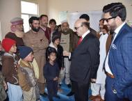 President Masood visits LoC, interacts victims of Indian shelling ..