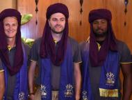 Foreign players of Quetta Gladiators get traditional welcome