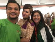 Etihad Airways Shares A Special Moment With Pakistan's Special  ..