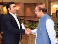 Bilawal Bhutto meets Nawaz Sharif in Kot Lakhpat Jail