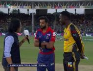 PSL-4: Peshawar Zalmi set 204-run target for Karachi Kings