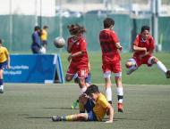 du LaLiga HPC win Dubai Sports Council Football Academies Champio ..