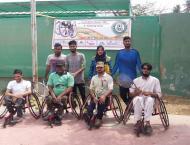 SSB Wheel Chair Tennis Trials/ Camp at Union Club Karachi-2019