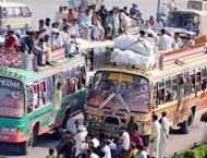 Government fails to provide better transport facilities to commut ..
