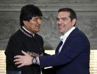 Morales Invites Greek Prime Minister Tsipras to Visit Bolivia