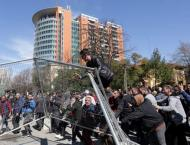 Police Use Tear Gas, Water Cannons at Anti-Government Rally in Al ..
