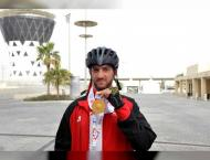 Three gold medals for UAE national cycling team in Special Olympi ..