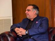 Sindh governor Imran Ismail slightly injured at Islamabad Airport