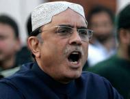 Organizing PSL in a Karachi ,  big achievement, Zardari