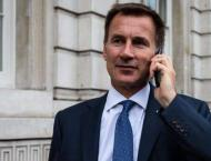 UK's Hunt Hopes New Parliamentary Vote on May's Brexit Deal to Ta ..
