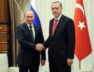Putin Says Invited Erdogan to Attend Mosque Opening in Crimea
