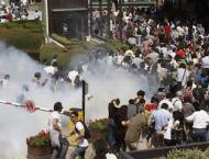 Turkish Police Fire Tear Gas at Pro-Kurdish Party Procession - Re ..