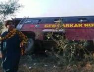 One person killed as passenger van overturns in Sujawal