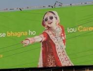 Careem removes runaway bride ad from billboard following backlash