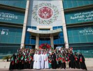 Priceless Memories from World Games Abu Dhabi mean more than meda ..