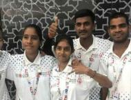 Indian athlete wins four silvers at Special Olympics