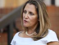 Canadian Foreign Minister Freeland Says Appalled by Arrest of Gua ..