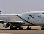 PIA flight stopped from taking off on suspicion of pilot's being  ..
