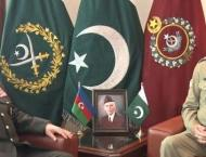 Azerbaijan's defense minister meets COAS, discusses defence coope ..