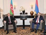Azerbaijani President Meets Armenian Prime Minister to Discuss Na ..