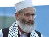 PTI taking  country downward: Siraj-ul- Haq