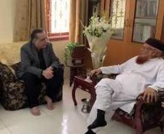 حاکم اقلیم سندھ عمران اسماعیل یلتقي المفکر الاسلامي الشیخ ..