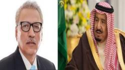 خادم الحرمین الشریفین الملک سلمان بن عبدالعزیز یھنئي الرئیس ..
