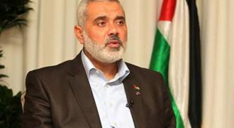 """رئیس المکتب السیاسي للحرکة المقاومة الاسلامیة """" حماس """" .."""