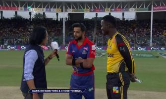 PSL-4: Karachi Kings win the toss and opt to field first against  ..