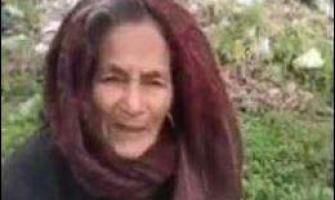 Old woman, forced to live in jungle, makes emotional appeal to PM ..
