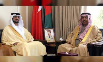 وزير شئون الدفاع البحريني يشيد بالعلاقات ..