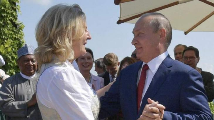 Putin Received Austrian Foreign Minister During Her Visit to Russia - Kremlin